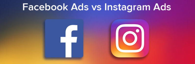 Facebook VS Instagram Advertisement